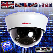 "700TVL SONY EFFIO 6-22mm VARIFOCAL 21 IR CCTV INTERNAL DOME CAMERA 1/3"" CCD PAL"