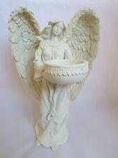 Standing Angel Figurine Tealight Holder 23cm