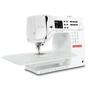 BERNINA B335 COMPUTERISED  SEWING MACHINE WITH  EXTENSION TABLE FREE UK DELIVERY