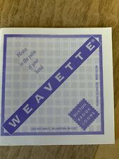 Weavette pattern book for Buxton Brook Weavette Looms