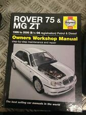HAYNES 4292 ROVER 75 MG ZT OWNERS WORKSHOP MANUAL