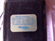 Webster Ignition Transformer 312-30h464