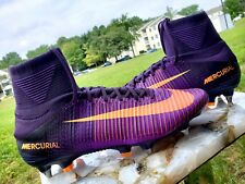 Nike Mercurial Superfly V SG-PRO Purple Dynasty 831956-585 Sz 13 MSRP $310 BOX