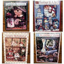 4 Decorative Painting Pattern Books by Chris Thornton-Susan Scheewe Publications