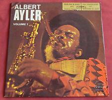 ALBERT AYLER  LP ORIG FR  NUITS DE LA FONDATION MAEGHT VOLUME 1 FREE SHANDAR