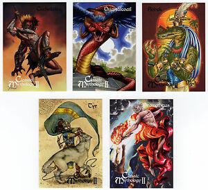 Perna Studios Classic Mythology II - 5 Card Preview Set CM1-CM5