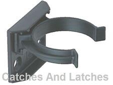 10  x KITCHEN PLINTH KICK BOARD CLIPS & BRACKETS SCREW FIXING 32mm BLACK PLASTIC