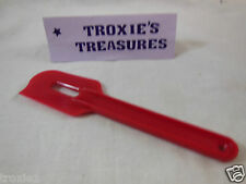 Tupperware Spatula Paddle Scraper  New Rare  Red Gadget New