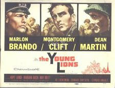 HS The Young Lions Original Lobby Card 1958 Title Card