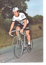 CYCLISME carte BERNARD BOURREAU  (equipe peugeot  esso 1977 )