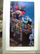 Bernie Wrightson: Ghouls (colour, signed & numbered) (USA)