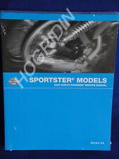 2006 Harley Davidson sportster xl 1200 883 nightster custom low service manual