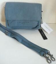 Liebeskind Berlin Calista Cross Body Shoulder Bag Soft Blue Leather NWT