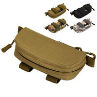 Tactical Molle Sunglasses Case Pouch Anti-shock Outdoor Eye glasses Holder Box