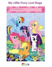My Little Pony Loot Party Bags Design 8pk Birthday Favour Lolly Gift Treat
