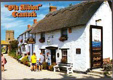 Vintage unused John Hinde Postcard Cornwall, The Old Albion in Crantock