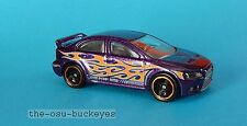 2012 Hot Wheels Loose Mitsubishi Lancer Evolution 2008 Purple Combine Shipping