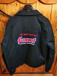 Summit Racing Herren Jacke Rockabilly Dickies US V8 Chevrolet Pontiac Dodge Ford