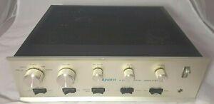 Dynaco SCA-80Q 4-Dimensional Amplifier (1972) Solid State Original Vintage Amp