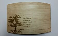 Personalized Maple Cutting Board Valentine's day Wedding Anniversary Gift