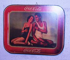 """Rarissimo quadretto pubblicitario in legno """"DRINK COCA-COLA"""" 37x29 centimetri***"""