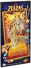 Schipper 609220473 Malen nach Zahlen für Erwachsene Zebras Zebra Afrika 40x80 cm