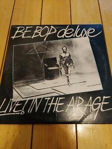 BE BOP DELUXE: Live! In the Air Age US Harvest 2x Vinyl LP White VINYL EX!!!