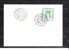 FRa/ enveloppe   50aire société philatélique de Vichy  vert   1978