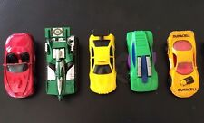 Lot x 5 Hot Wheels & Matchbox Cars ~ Anteater Tank, Duracell, Mach Iii, Taxi +