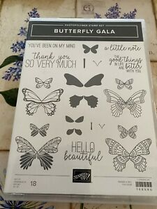 Stampin up Butterfly Gala photopolymer stamp set