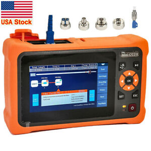 OTDR 1310/1550nm 26/24dB 4.3 inches Touch Screen 5m-100Km Optical Network Tester