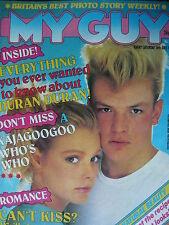 MY GUY MAGAZINE 16/7/83 - KAJAGOOGOO - MICHAEL JACKSON