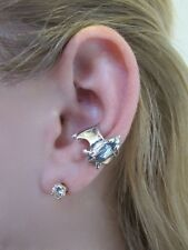 Sterling Silver BAT EAR CUFF  by Marty Magic