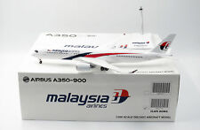 Malaysia Airlines A350-900 Flap Down  JC Wings  1:200 Diecast models LH2117A