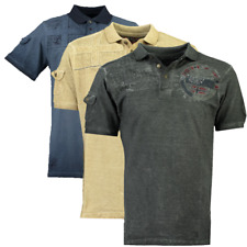 Polo Polo shirt T-shirt Maniche Corte Short Sleeves Kinflat Men GEOGRAPHICAL NOR