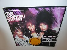 "POINTER SISTERS  BE THERE (FROM BEVERLY HILLS COP II)    7"" SINGLE RECORD 1987"