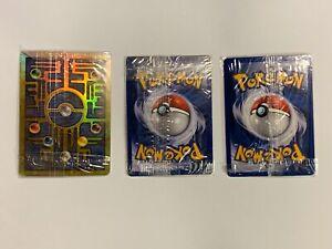 Set of 3 Factory Sealed Pokemon Promo Cards : Ancient Mew, Entei, Legendary Bird