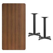 Flsh-Xuwaltb3060T2222Gg-3 0'' x 60'' Rectangular Walnut Laminate Table Top with