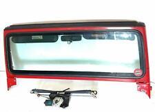 1999 Jeep Wrangler Windshield Frame W/ Glass Visors Wiper Motor + Arms Oem Used