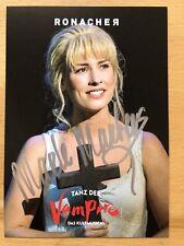 Marle Martens Ak Danse le Vampire Ronacher Carte Autographe Original Signé