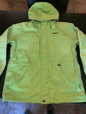 Supreme Pin Dot Shell Jacket Acid Green XL F/W12 2012 TNF Taped Seam