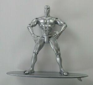 "Silver Surfer w/ Surfboard (1997)-Toy Biz / Marvel 6 1/2"" Poseable Action Figure"