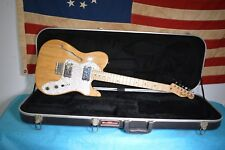 Fender '72 Telecaster Thinline Reissue 2004 MIM Made in Mexico Electric Guitar