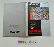 Super Nintendo SNES Prince Of Persia Notice / Instruction Manual