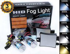 Xenon 55W HID Fog Light Lamp Conversion Kit - H10 9145 6000K Diamond White (q)