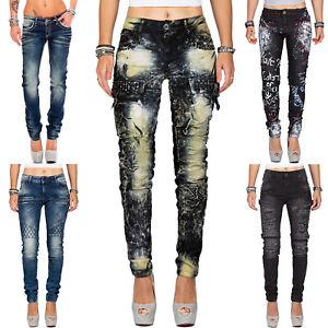 Various Cipo & Baxx Women's Jeans Trousers Slim-Fit Regular Fit Streetwear