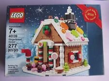 Sealed Lego Gingerbread House Limited Edition Candy Holiday Winter Scene Snow