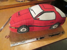 88' RED MAZDA RX-7 TURBO II PLUSH SOFT PILLOW - STOCK#2