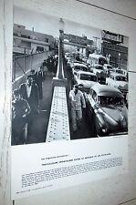 PHOTO ECOLE 1966 GEOGRAPHIE TRAVAILLEURS FRONTALIERS ENTRE MEXIQUE ET ETATS UNIS