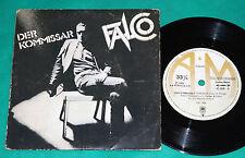 """Falco - Der Kommissar BRAZIL RARE 7"""" Single 1st 1982"""